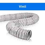 Гибкий гофрированный воздуховод Vinil