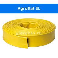 Плоскосворачиваемый напорный ПВХ рукав лайфлет Agroflat SL