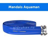 Плоскосворачиваемый напорный полиуретановый шланг Mandals Aquaman