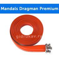 Плоскосворачиваемый напорный полиуретановый шланг Mandals Dragman Premium
