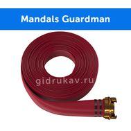 Плоскосворачиваемый напорный каучуковый шланг Mandals Guardman
