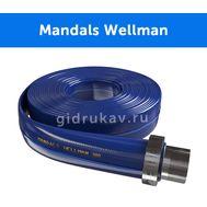 Плоскосворачиваемый напорный полиуретановый шланг Mandals Wellman