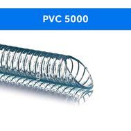 Напорно-всасывающий ПВХ шланг с металлической спиралью PVC 5000