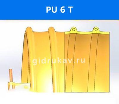 Гибкий высокотемпературный полиуретановый рукав PU-6-T схема