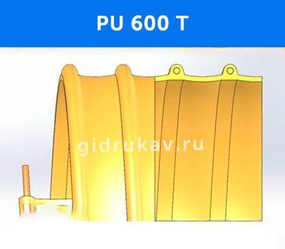 Гибкий высокотемпературный полиуретановый рукав PU-600-T схема