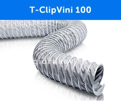 Гибкий гофрированный воздуховод T-ClipVini 100