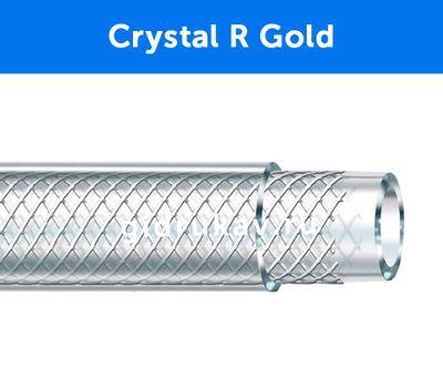 Напорный ПВХ шланг, армированный нитью Crystal R Gold