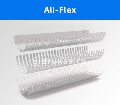 Напорно-всасывающий ПВХ рукав Ali-Flex схема