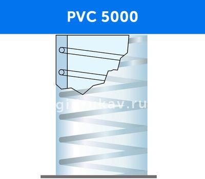 Напорно-всасывающий ПВХ рукав с металлической спиралью PVC 5000 схема