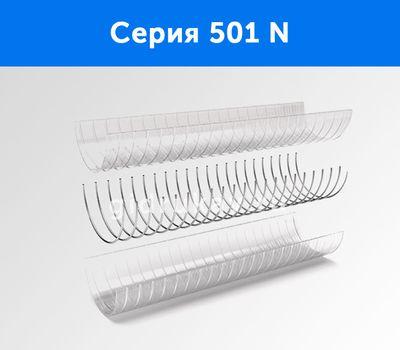 Напорно-всасывающий ПВХ рукав с металлической спиралью Серия 501 N схема