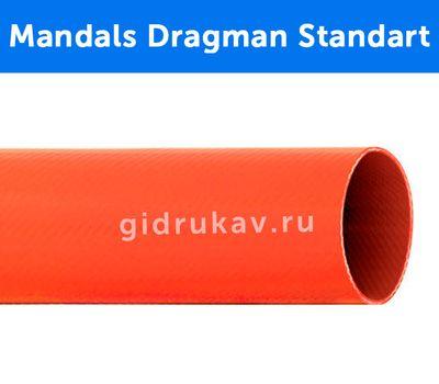 Плоскосворачиваемый напорный полиуретановый шланг Mandals Dragman Standart в разрезе