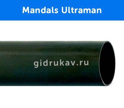 Плоскосворачиваемый напорный полиуретановый шланг Mandals Ultraman в разрезе