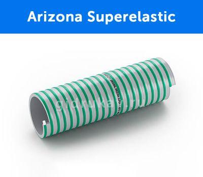 Напорно-всасывающий морозостойкий ПВХ  рукав для асенизаторских машин Arizona Superelastic