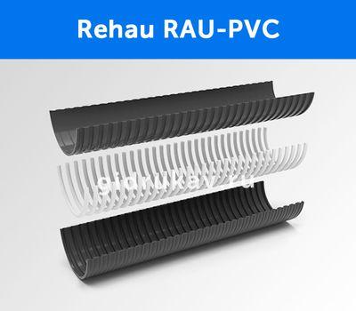 Напорно-всасывающий ассенизаторный морозостойкий ПВХ шланг Rehau-RAU-PVC схема